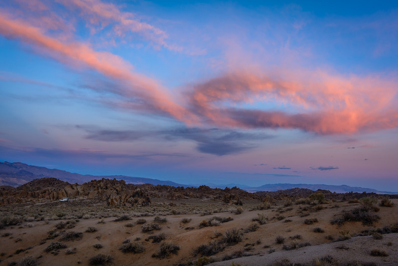 Alabama Hills Sunset, Movie Road, Lone Pine, CA