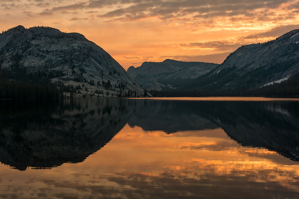 Tenaya Lake Sunrise, Yosemite National Park