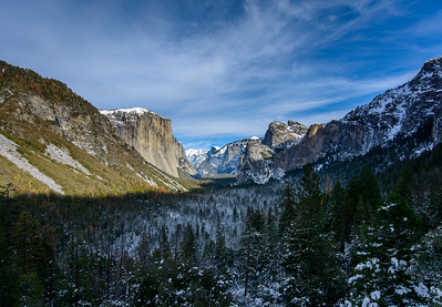 Winter Tunnel View_