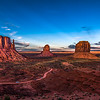 """Monument Valley Sunset"""