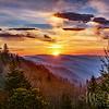 Oconaluftee Sunrise