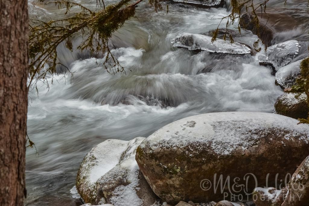 An Icy Rush