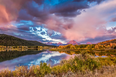 """""Autumn at Oxbow Bend"""