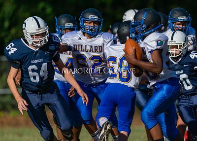 Daniels Football vs Dillard. October 24, 2019. D4S_0206