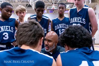 Daniels vs Martin girls basketball. MRC_7977