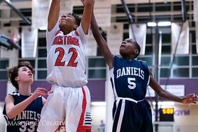 Daniels vs Martin girls basketball. 750_7087