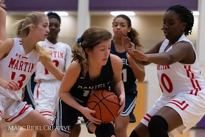 Daniels vs Martin girls basketball. 750_6594