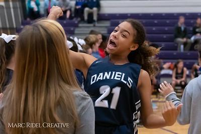 Daniels vs Martin girls basketball. MRC_7450