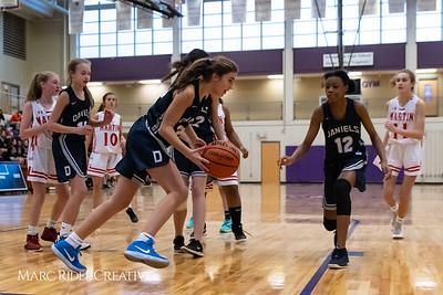 Daniels vs Martin girls basketball. MRC_7429