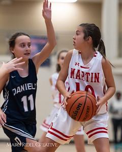 Daniels vs Martin girls basketball. 750_6506