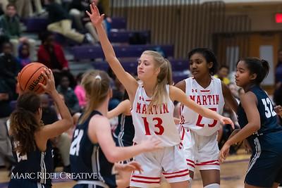 Daniels vs Martin girls basketball. 750_6569