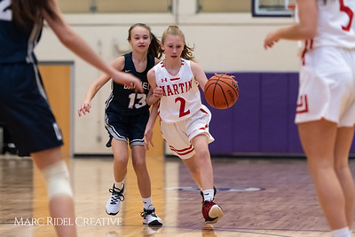 Daniels vs Martin girls basketball. 750_6516