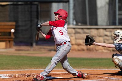 Daniels vs Martin baseball. March 17, 2019. D4S_9269