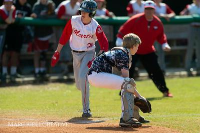 Daniels vs Martin baseball. March 17, 2019. D4S_9434