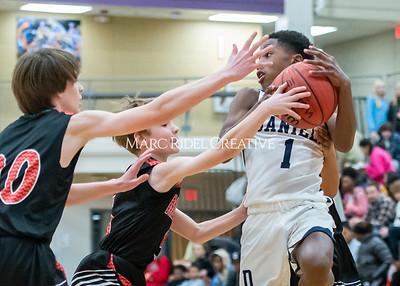 Martin vs Daniels Basketball. January 23, 2020. D4S_4128