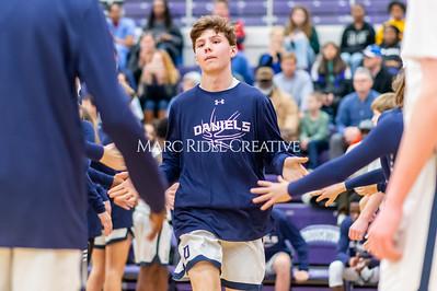 Martin vs Daniels Basketball. January 23, 2020. D4S_4206
