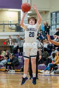 Martin vs Daniels Basketball. January 23, 2020. D4S_4130