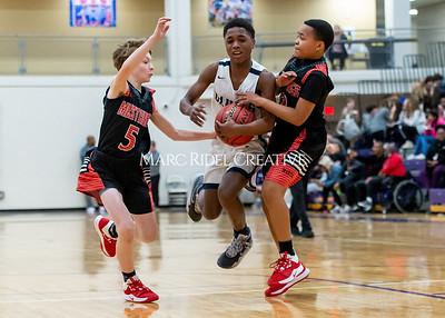Martin vs Daniels Basketball. January 23, 2020. D4S_4164