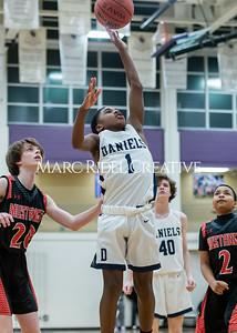 Martin vs Daniels Basketball. January 23, 2020. D4S_4110