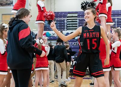 Martin vs Daniels Basketball. January 23, 2020. D4S_3540