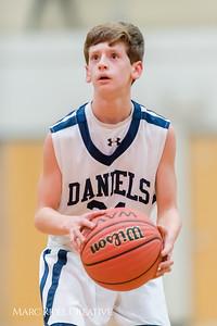 Martin vs. Daniels boy's basketball. December 12, 2017.