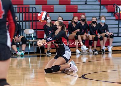 Oberlin vs Martin volleyball. September 22, 2021.