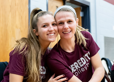 Meredith Volleyball senior night.. October 19, 2019. D4S_5699