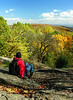 Autumn overlook from Hog Rock<br /> Catoctin Mountain Nat'l Park, Frederick County, MD