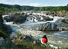 Meditating on the falls<br /> Great Falls National Park, McLean, VA