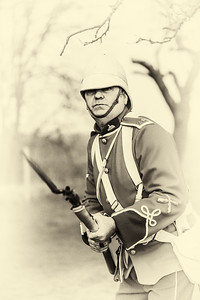 A soldier of The 24th; Zulu War