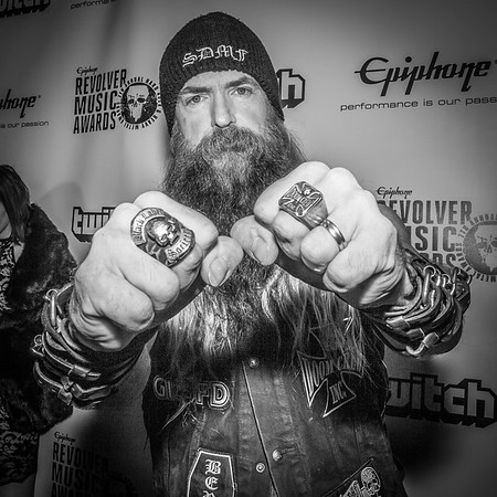 ZAKK WYLDE - REVOLVER MUSIC AWARDS BLACK CARPET