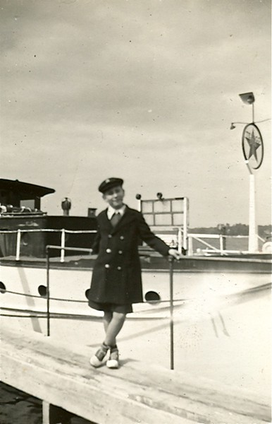 Ted Brenner, possibly Fair Haven Yacht Works, circa 1940