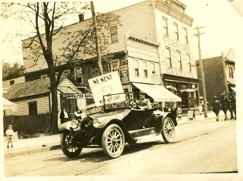 Atlantic Highlands?  WWi Parade?