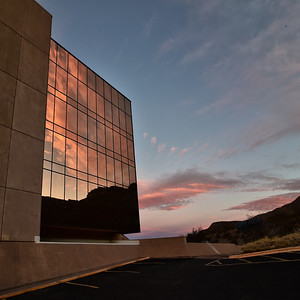 Space Hall Reflection @ Dawn adj 8x8_3719 copy