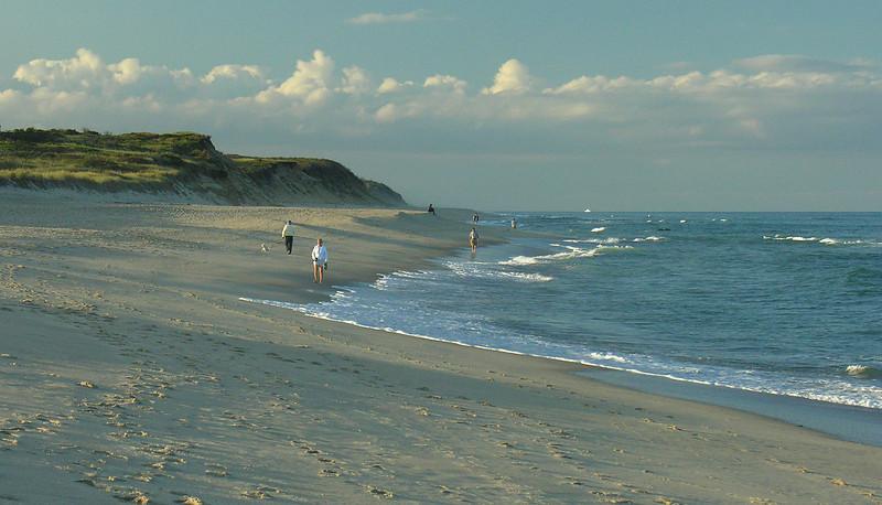 Coast Guard Beach at sunset<br /> Cape Cod National Seashore, Eastham, Cape Cod, MA