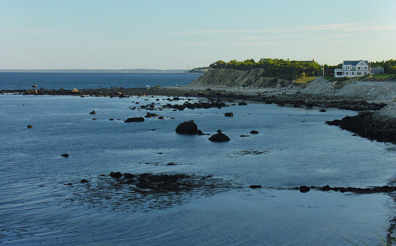 Manomet Point at sunset<br /> Plymouth, MA