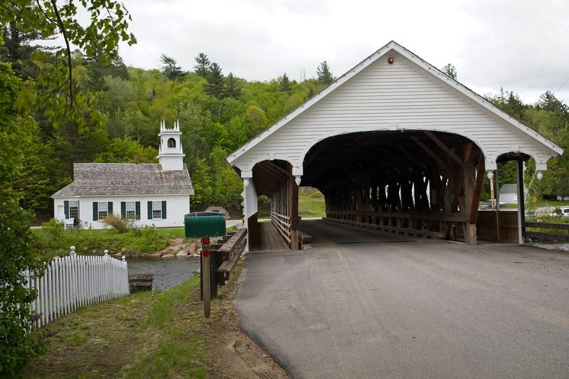 Stark Covered Bridge at Stark New Hampshire.