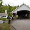 Stark Covered Bridge at Stark New Hampshire.