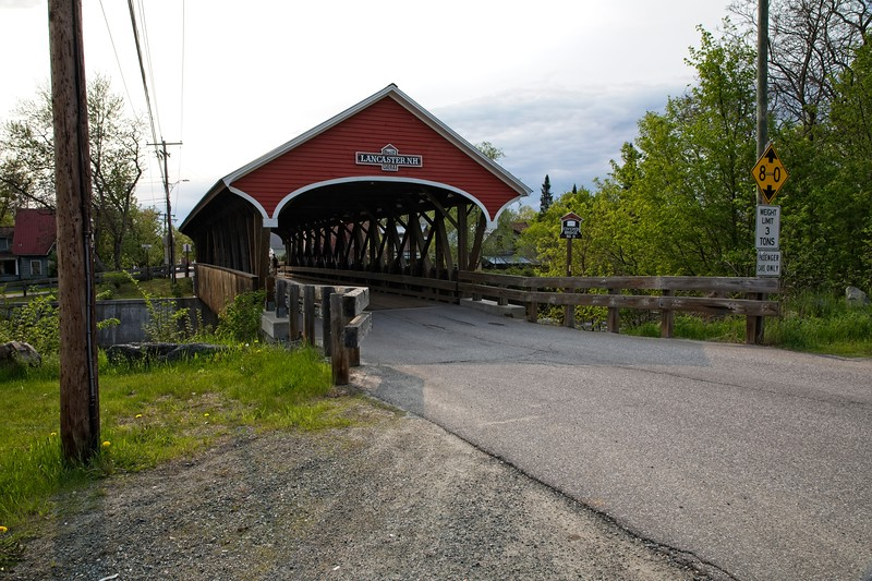 Landcaster, New Hampshire covered bridge