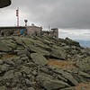Top of Mount Washington on 3 June 2019. Temp was at 34, with a wing at 30 mph. It was cold!!