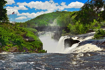 The Passaic River at the Great Falls
