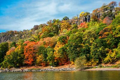 Autumn NJ Palisades Cliffs
