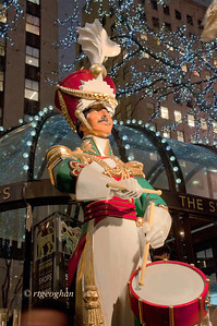 Rockefeller Center Christmas Drummer Figure 2013