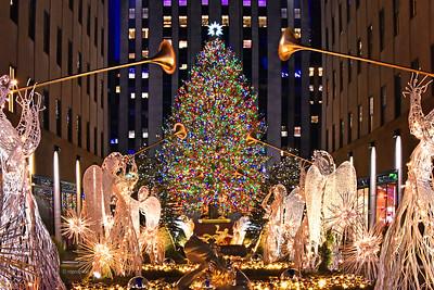 NYC-Roc Center Christmas Tree
