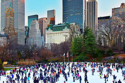 NYC Central Park Ice Rink