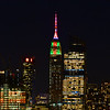 NYC Christmas-Empire State Building