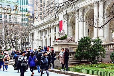 NYC holidays - NY Public Library