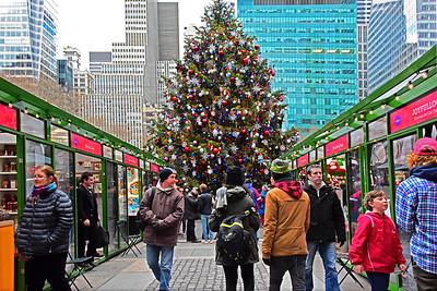 NYC Holidays-Bryant Park