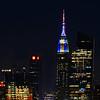Empire Stgate Building-Hanukkah-Christmas colors