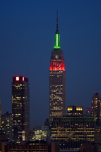 Empire State Building - Martin Luther King Jr Day